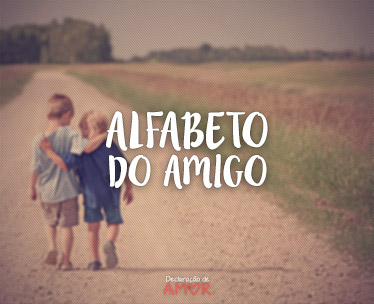 Alfabeto do Amigo